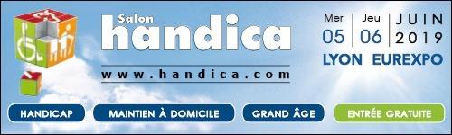 Vente-dédicace au Salon Handica 2019